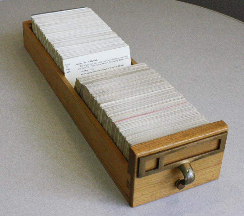 card drawer